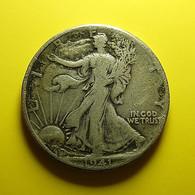 USA 1/2 Dollar 1941 Silver - Émissions Fédérales