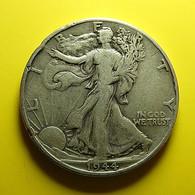 USA 1/2 Dollar 1944 Silver - Émissions Fédérales