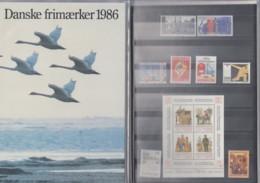 DÄNEMARK  Jahrbuch 1986, Postfrisch **, MiNr.  853-887 - Danimarca