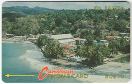 ST. LUCIA A-167 Magnetic Cable & Wireless - Landscape, Coast - 7CSLA - Used - Santa Lucía