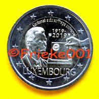 Luxemburg - Luxembourg - 2 Euro 2019 Comm.(Stemrecht) - Luxemburg