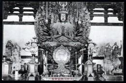 CPA ANCIENNE JAPON- KYOTO- SANJUSANGENDO EN 1913- STATUE DORÉE DE BOUDDHA- INFO (2) AU VERSO- 2 SCANS - Kyoto
