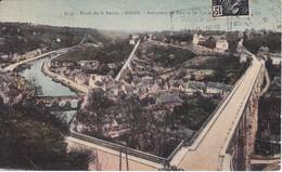 3135 POSTAL DE DINAN PANORAMA DU PORT ET DU VIA DEL AÑO 1931  - FRANCIA-FRANCE - Dinan