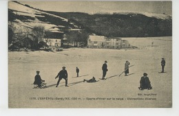 L'ESPEROU - Sports D'hiver Sur La Neige - Distractions Diverses - Autres Communes