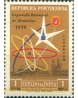 Ref. 612412 * HINGED * - PORTUGUESE INDIA. 1958. BRUXELLES WORLD EXPO . EXPOSICION MUNDIAL DE BRUSELAS - Portugiesisch-Indien