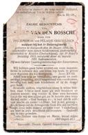 Nazareth Soldaat WOI Adolf Van Den Bossche - Ghijselinck 1915 - Oude Documenten