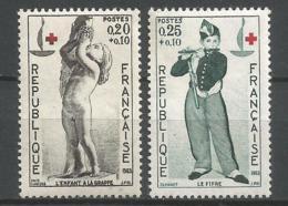 FRANCE ANNEE 1963 N° 1400 1401 NEUFS** NMH - France