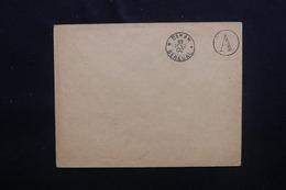 SÉNÉGAL - Oblitération De Dakar + Cachet A Sur Enveloppe En 1902, Non Voyagé - L 48731 - Sénégal (1887-1944)