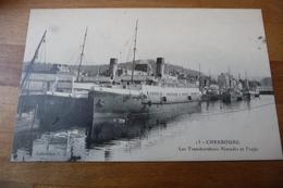 50 - Cherbourg Les Transbordeurs Nomadic Et Trafic - Cherbourg