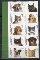 USA 2010 Estados Unidos / Pets Cats Dogs MNH Perros Gatos Katzen Hunde / Cu5622  1-42 - Perros