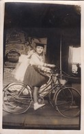 Manège Vander Bee.. Enghien Foire Vélo Photo Carte Verso Vierge - Foto's