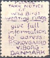 Denmark - P. Skovgaard - Bird Ringing - Stamps