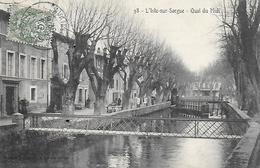 84)  L' ISLE Sur SORGUE  - Quai Du Midi - L'Isle Sur Sorgue