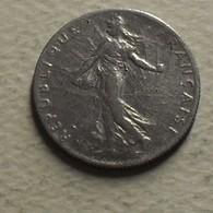 1916 - France - 50 CENTIMES, Semeuse, Argent, Silver, KM 854, Gad 420 - G. 50 Centimes