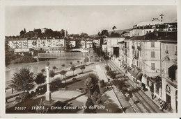 TORINO-IVREA CORSO CAVOUR VISTO DALL'ALTO - Italia