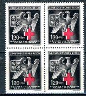 Böhmen & Mähren   ---   Y&T   111   XX     Mi   132    ---    Bloc De 4  --   1 Timbre X  --  MNH  --  TTB - Bohême & Moravie