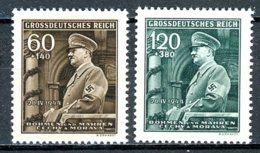 Böhmen & Mähren   ---   Y&T   115 - 116   XX     Mi   136 - 137    ---     MNH  --  TTB - Bohême & Moravie