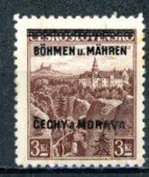 Böhmen & Mähren   ---   Y&T    16    X     Mi    16   ---    TTB - Bohême & Moravie