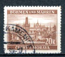 Böhmen & Mähren   ---   Y&T    37    Obl     Mi    37   ---    TTB - Oblitérés