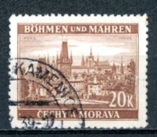 Böhmen & Mähren   ---   Y&T    37    Obl     Mi    37   ---    TTB - Bohême & Moravie