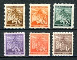 Böhmen & Mähren   ---   Y&T    41 - 46    XX     Mi       ---   MNH   ---   TTB - Bohême & Moravie