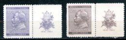 Böhmen & Mähren   ---   Y&T    63 - 64    XX     Mi    73 - 74    ---    MNH   ---   TTB - Bohemia & Moravia