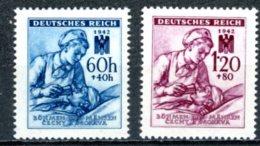 Böhmen & Mähren   ---   Y&T    99 - 100     Mi   111 - 112   ---    MNH  --   TTB - Oblitérés
