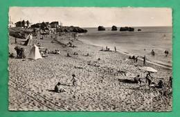 85 Vendée Saint Hilaire De Riez Sion Sur L ' Ocean La Plage Des 5 Pineaux    ( Format 9cm X 14cm ) - Saint Hilaire De Riez