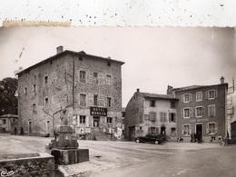 """SAINT-JEAN-SOLEYMIEUX PLACE DU MARCHE """"HOTEL MONDON"""" - Saint Jean Soleymieux"""
