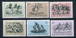 1951- LUSSEMBURGO -OLIMPIADI HELSINKI - 6 VAL.  - M.N.H.- LUXE !! - Luxemburg
