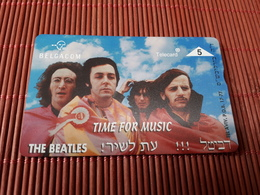 The Beatles Phonecard (mint,Neuve) Only 1000 EX Made Rare - Music