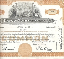 Natco Corporation - Actions & Titres