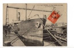 ROUEN - 76 - Seine Maritime - Le Transbordeur Et Le Quai Cavelier De La Salle - Rouen