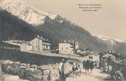 TORINO-CHIALAMBERTO PANORAMA DA PONENTE - Italia
