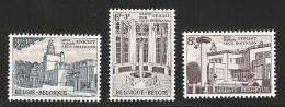 Architecture-ART DECO-Belgique**1965-3vals-Architecte Hoffmann-fontaine-NSC-MNH-Belgium - Andere