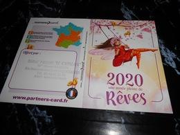 Calendrier De Poche 2020  (petite Fée Sur Balançoire) - Calendarios