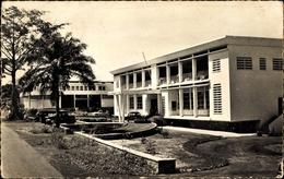 Cp Bangui Zentralfrikanische Republik, La Caisse Centrale Et La Generale - Postkaarten