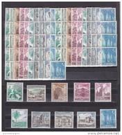 España Nº 1726 Al 1735 - 10 Series - 1961-70 Nuevos & Fijasellos