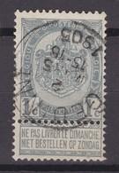 N° 53 Défauts GEDINNE - 1893-1907 Coat Of Arms