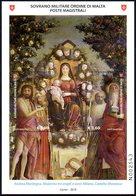 Ordre De Malte SMOM 2019 03 Art, Madonna Tra Angeli E Santi, Andrea Mantegna, Saint Jean Baptiste - Malte (Ordre De)