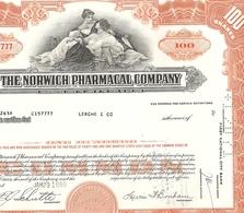 The Norwich Pharmacal Company - Aandelen
