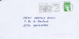 MAINE Et LOIRE - Flamme Illustrée à Gauche RABLAY SUR LAYON Du 7 - 1  1981 - Postmark Collection (Covers)