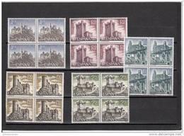 España Nº 1880 Al 1884 En Bloque De Cuatro - 1961-70 Nuevos & Fijasellos