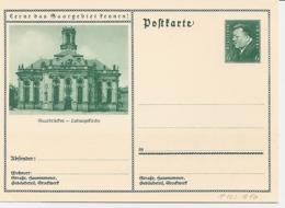 DR P 202-46 ** - 6 Pf Hindenburg BiPo : Saarbrücken - Ludwigskirche - Interi Postali