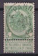 N° 56 LA PANNE - 1893-1907 Coat Of Arms