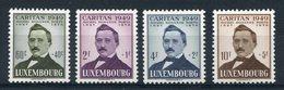 1949- LUSSEMBURGO -CARITAS - 4 VAL.  - M.N.H.- LUXE !! - Luxemburg