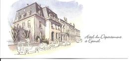 88 - Epinal - Hôtel Du Département (carte Double) - Epinal