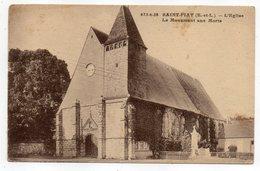 SAINT PIAT - L'église --Le Monument Aux Morts....timbres ---cachet ............à Saisir - Otros Municipios