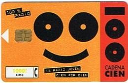 Espagne - Chaîne Radio CADENA 1000 Ptas - 6,01€ - Werbung