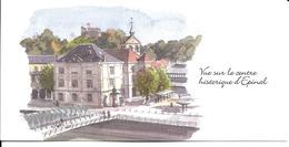 88 - Epinal - Vue Sur Le Centre Historique  (carte Double) - Epinal